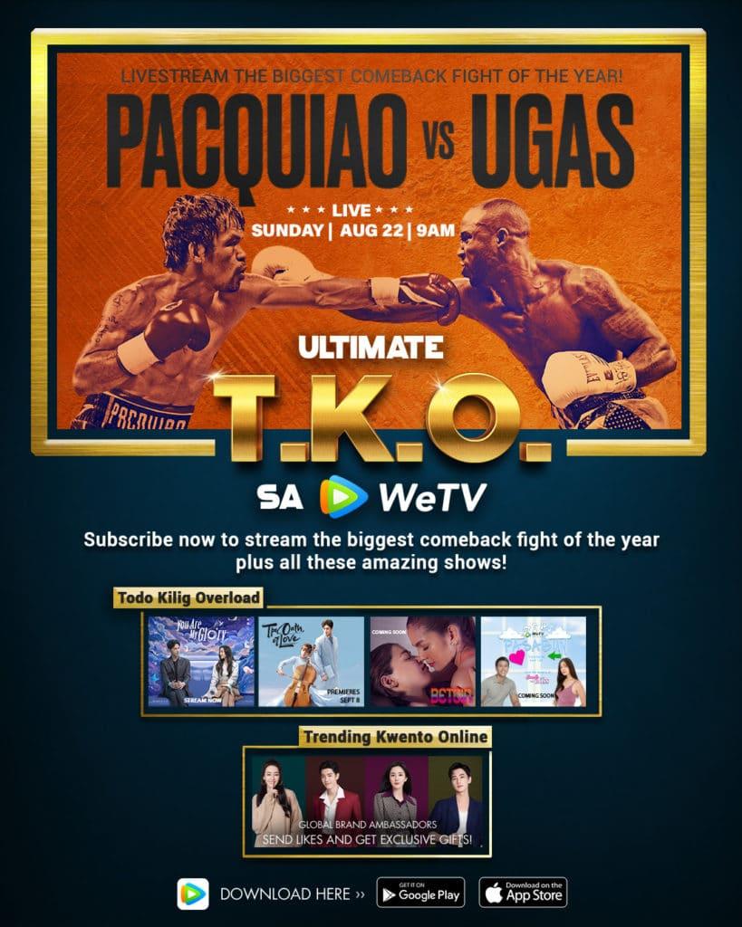 Pacquiao vs. Ugas: Ultimate T.K.O. 2021 Full HD Movie